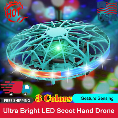 AU41.99 • Buy Mini LED Drone Smart UFO Aircraft For Kids Flying Toys RC Remote Control WH