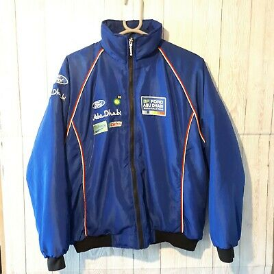 £100 • Buy EXTREMELY RARE SPARCO JACKET, BP FORD ABU DHABI WORLD RALLY TEAM. Pit 2 Pit 60cm