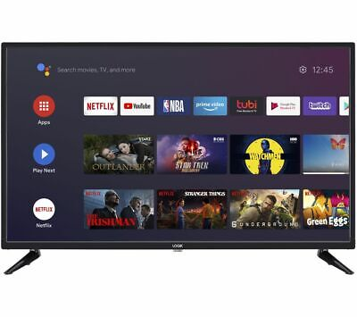 £149.97 • Buy Logik L32ahe19 Android Tv 32  Smart Wifi Hd Ready Led Tv Google Assistant Hdmi