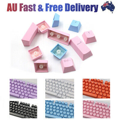 AU19.58 • Buy 104Pcs/Set PBT Gaming Backlit Key Cap Keycaps For Cherry Mechanical Keyboard New