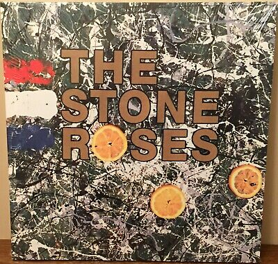 The Stone Roses 15  X 15  Canvas Print On A Wooden Stretcher Frame • 7.49£