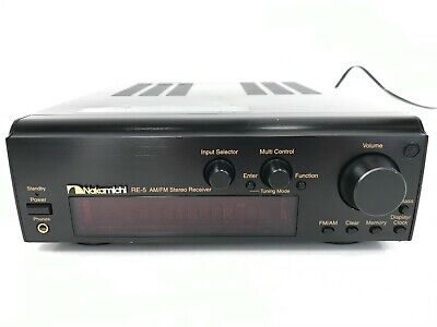 $139 • Buy Vintage Nakamichi RE-5 Stereo Receiver AM FM CMS-5 Compact Music System NORemote