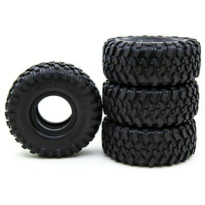 £24.80 • Buy 1:10 Rock Crawler RC 120MM 1.9  Rubber Rocks Tyres Wheel Tires For Axial SCX10