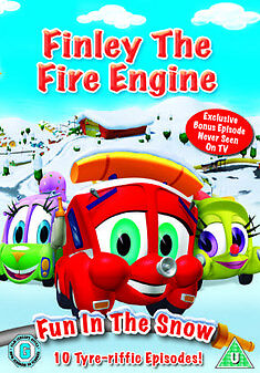 Finley The Fire Engine Vol.2 - Fun In The Snow (DVD, 2010) • 1.69£