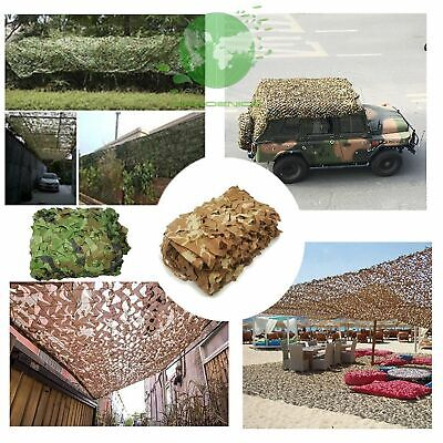 $19.78 • Buy Military Camouflage Netting Hunting Camping Camo Army Net Woodland Desert Leaves