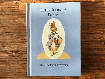 £8.99 • Buy THE PETER RABBIT DIARY FOR ANY YEAR. By Beatrix Potter Original 1982 Edition