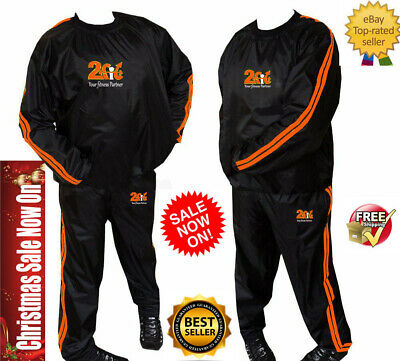 AU42.95 • Buy Best Sauna Sweat Suit To Lose Weight FIGHT MMA Exercise Workout For Men Women