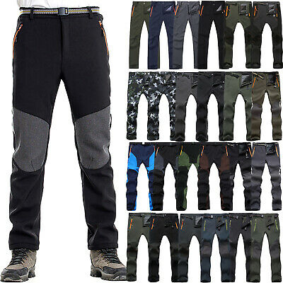 £17.99 • Buy Mens Climbing Tactical Combat Casual Trousers Winter Warmer Outdoor Hiking Pants