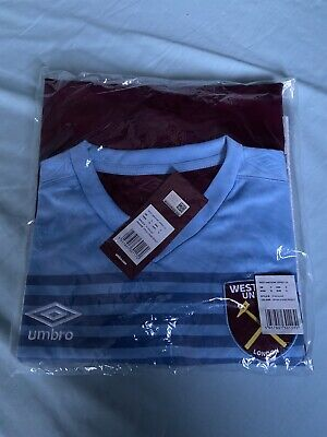Bnwt West Ham United Home Long Sleeved Football Shirt 2019/20 - Size Small • 24.99£