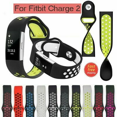 $ CDN11.99 • Buy New Strap For Fitbit Charge 2 Band Silicone Strap Replacement Watch Band CA SLR