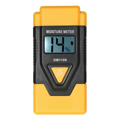 3 In 1 Digital Moisture Meter Damp Detector Timber Wood Log Tester Plaster • 12.78£