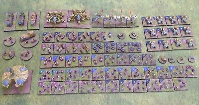 Exodus Wars 6mm KHAZARI CLAN Army For Future Wars Epic Squat Pro Painted 71775 • 100£