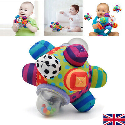 Little Loud Bell Educational Ball Baby Colorful Learning Balls Kid Soft Ball Toy • 9.47£