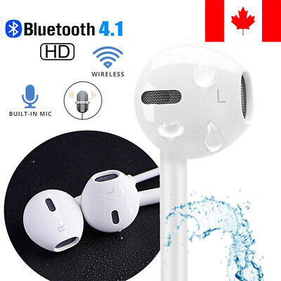 $ CDN9.99 • Buy Wireless Bluetooth Headphones Earphones For IPhone XR XS MAX X 7 PLUS 8 Samsung
