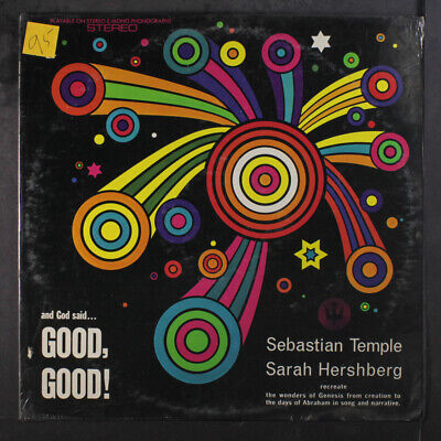 AU23.60 • Buy SEBASTIAN TEMPLE / SARAH HERSHBERG: And God Said Good Good 12  LP 33 RPM Sealed