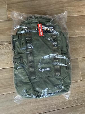 $ CDN228.37 • Buy Supreme Backpack Olive Green FW20 2020 *New In Bag*