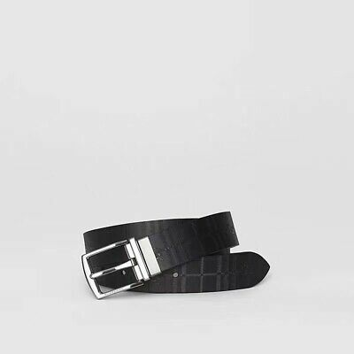 100% Authentic Brand New Man Burberry Reversible Leather Belt Size 100 • 260£