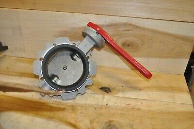 AU257.45 • Buy 4 Inch Milwaukee Butterfly Valve P2860H-400  NSN 4820-01-090-0923 NEW