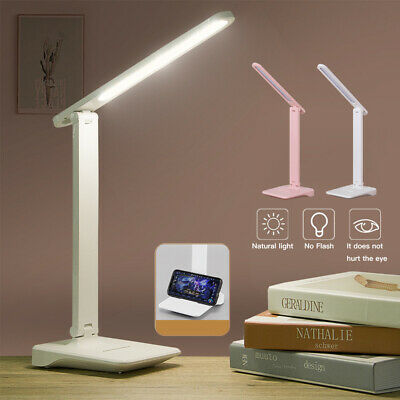 AU13.30 • Buy Touch LED Desk Lamp Bedside Study Reading Table Light 3 Mode USB Dimmable Lamp