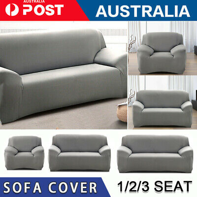 AU21 • Buy 1 2 3 Seater Stretch Fit Sofa Cover Lounge Couch Removable Slipcover Washable GR
