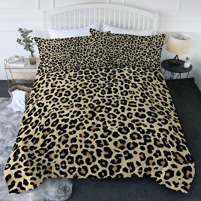 $ CDN142.92 • Buy BlessLiving Leopard Comforter Set Animal Print Cheetah Full/Queen Bedding 3 Piec