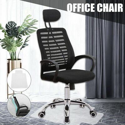 AU48.09 • Buy High Back Office Chair Gaming Chair Computer Chairs Mesh Net Work / Floor Mat