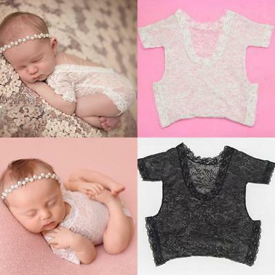 £3.11 • Buy Lace Jumpsuit Baby Clothes Comfortable Popular Safety Retro Photography Props DS