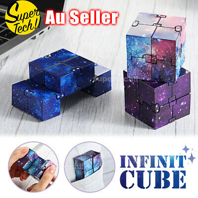 AU9.45 • Buy Infinity Cube Sensory Stress Relief Decompression Toys Fidget ADHD Anti Anxiety