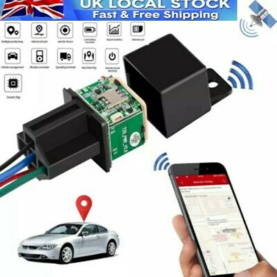 £17.49 • Buy Car Tracking Relay GPS Tracker Locator Remote Control Power Cut Off System