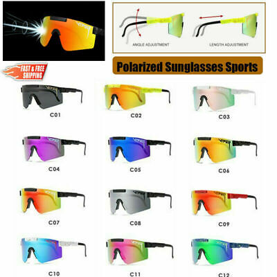 AU38.99 • Buy Mens Women Outdoor Pit Viper Polarized Sunglasses Cycling Windproof Sport Goggle