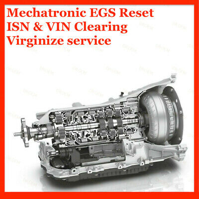 AU193.42 • Buy BMW EGS Transmission Valve Body Mechatronic 6HP 8HP ISN EWS VIN Reset Service