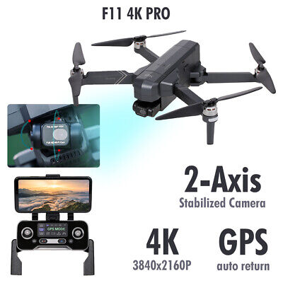 AU315.99 • Buy SJRC F11 4K PRO RC Drone With Camera 4K Gimbal 5G Wifi FPV GPS Quadcopter T7V0