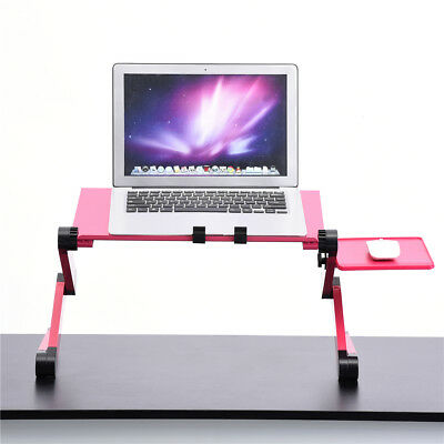 Adjustable Foldable Desk Laptop Table PC Stand Tray For Bed Side Tray Fan • 16.99£