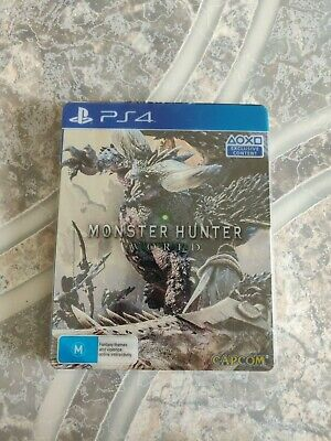 AU59.95 • Buy Monster Hunter: World Steelbook Edition PS4 Playstation 4 Game
