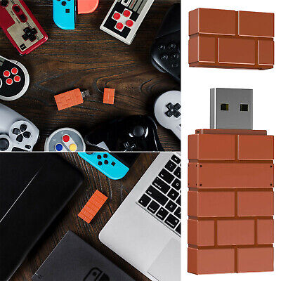 AU48.45 • Buy 8Bitdo Wireless USB Adapter Converter For Switch/Windows/MacOS/Android Smart TV