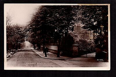 £13.50 • Buy Eccles, Victoria Road - Near Salford - Real Photographic Postcard