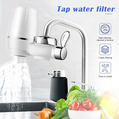 Kitchen Tap Water Faucet Purifier Ceramic Filtration Cleaner Home Water Filter` • 8.49£