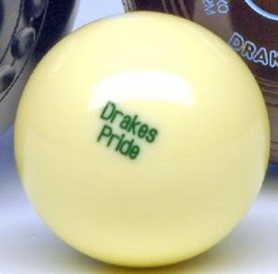 Drakes Pride Outdoor Jack For Flat Green Bowls - White • 21.63£