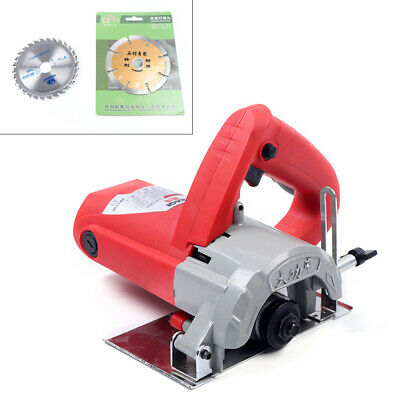 £64 • Buy Wet Tile Saw Stone Blade Cutter Electric Cutting Machine 1480W  Max. 34mm