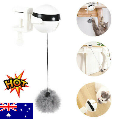 AU15.96 • Buy Electric Automatic Lifting Cat Ball Toys Interactive Puzzle Smart Pet Cat BallHG
