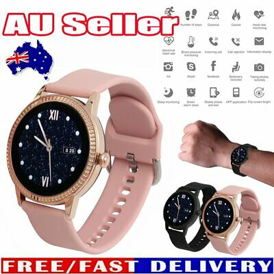 AU41.56 • Buy Women Men Waterproof Bluetooth Smart Watch Phone Mate For IPhone Android IOS HG