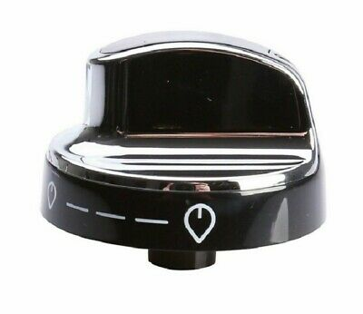 Gas Control Knob Switch Black Silver For New World Oven Cooker • 7.79£