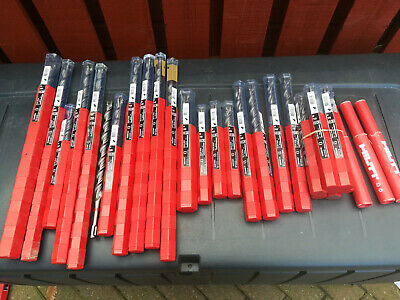 Hilti Any Size SDS+ Hammer Drill Bit: 5 6 7 8 10 12 14, 16, 20, 24mm TE-CX • 11£