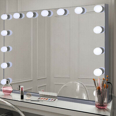 100cm Extra Large Vanity Mirror Hollywood Makeup Mirrors With Lights 15 LED Bulb • 179.94£