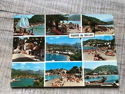 Collectable Postcard Spain Mallorca Puerto De Soller (d688) • 2.49£