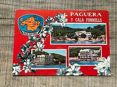 Collectable Postcard Spain Mallorca Paguera Fornells (d333) • 2.49£