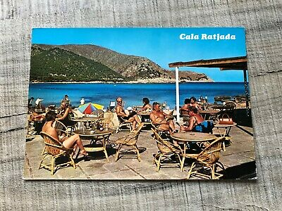 Collectable Postcard Spain Cala Ratjada Mallorca (d70) • 2.49£