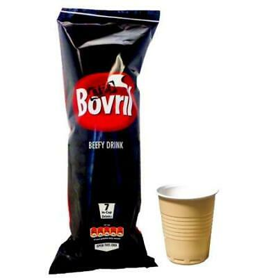 £5.99 • Buy 18 Bovril Beefy Drink Instant Disposable Cups - Just Add Water - Same Day Post