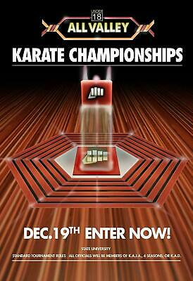 $19.80 • Buy Karate Kid Tournament All Valley High Quality No Frame Poster Decor Style Home