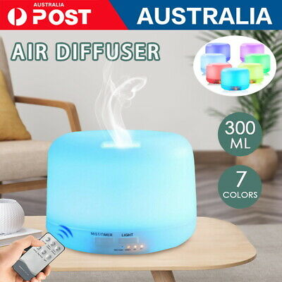 AU21 • Buy  Essential Air Mist Oil Aroma Diffuser Ultrasonic Humidifier Aromatherapy 500ML